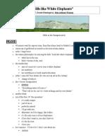 104 ErnestHemingway HillsWhiteElephants Notes