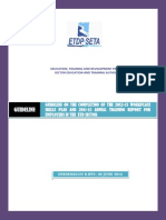 Guideline to Complete the 2012-13WSP and 2011-12ATR Template for the Employers in the ETD Sector