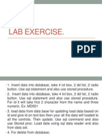 Lab ExerciseADO