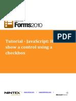 NF2010 Tutorial JavaScript HideShow Using Checkbox