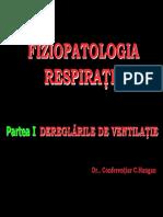 Fiziopatologia respiratiei (Hangan)