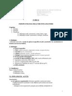 Curs 11 Fiziopatologia-Inflamatiei