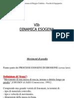 geologia applicata. la dinamica esogena