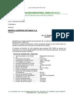 P-009-09Rev.0 Lodos de degradación de cianuro.