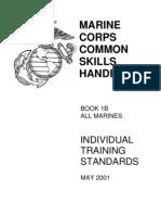 Marine Corps Common Skills Handbook B