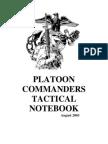 Platoon Commander Handbook