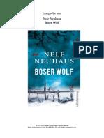 Neuhaus Boeser Wolf Lp