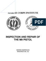 Inspection and Repair of the M9 Pistol