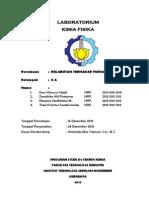 Laporan Praktikum Kimia Fisika Kelarutan Sebagai Fungsi Suhu Zandhika Alfi Pratama
