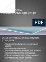Management Group 3 - Formal Org. Structure & Values