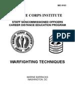 War Fighting Techniques