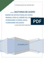 MANUAL PARA EL DISEÑO DE ESTRUCTURAS DE ACERO