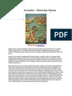 Perang Kurusetra Karna Dan Arjuna (1)