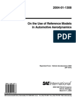 SAE reference bodies for vehicle aerodynamics
