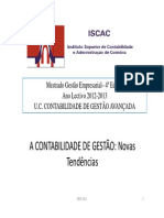 Microsoft PowerPoint - CAP 1 Contab Gestao nOVAS TENDENCIAS Modo de Compatibilidade