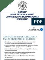 Contoh Pelaksanaan SPMI-PT