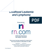 Childhood Leukemia TAB Course20061113
