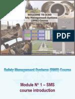 ICAO SMS M 01 – SMS course (R013) 09  (E)