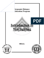 Introduction to War Fighting