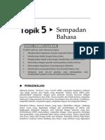 Topik 5 Sempadan Bahasa