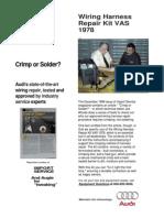 Crimp or Solder