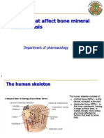 Bone Mineral Homeostasis