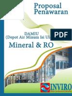 Depot Air Minum Isi Ulang Proposal Penawaran