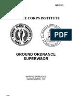 Ground Ordnance Supervisor
