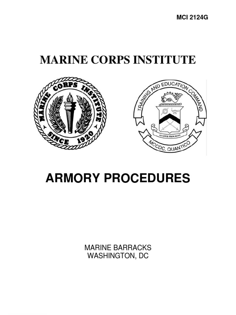 Armory procedures staff military united states marine corps magicingreecefo Choice Image