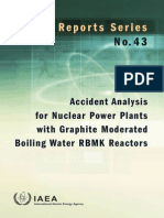 Accident Analysis RBMK