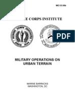 Military Operations in Urban Terrain
