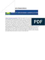 Safety Engineers Association
