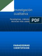 C.1.La Investigación cualitativa-Paradigmas