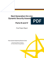 McCalley PSERC Report S-38 Parts III and IV October 2012 ExSum