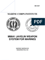 Javelin Weapon System Crewman