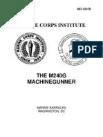 M240G Machine Gunner