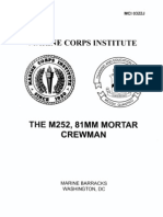 M252 81mm Mortar Crewman