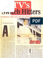"""""""Switch Hitters"""" (on TV shows switching networks)"""