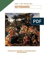 Notiziario 239 - Frati Minori di Lombardia