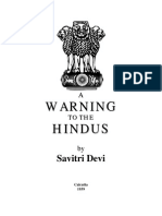 A warning to Hindu