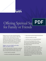 Faith Brochure