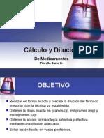 Calculo Dosis