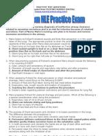 300Item NLE Practice Exam