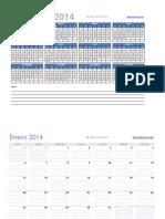 CalendarioExcel2014-2