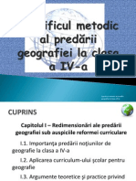 Teaching Geography in Romania