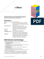 Membrane Filters_Dairy Processing Hand Book