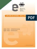 Ejemplo b2 Pruebas 1 y 2 Interpretacion y Produccion de Textos Escritos 18 de Noviembre 2005 1