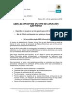 LIBERA EL SAT SERVICIO GRATUITO DE FACTURACIÓN ELECTRÓNICA.pdf