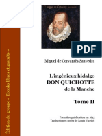 Cervantes Don Quichotte 2