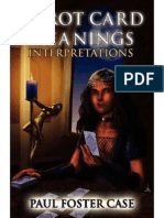 Case Paul Foster Tarot Interpretation Tarot Card Meanings Vol 2 Interpretations Part 2